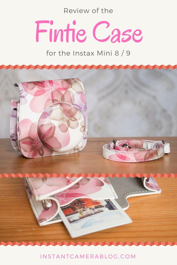Fujifilm Instax Mini 8 / 9 case review: Fintie carrying case. #instax #instaxmini #mini8 #mini9 #case