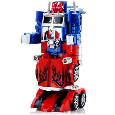 Fengyuan Remote Control 28128 Robot Transformers / Optimus Prime / Automatic Deformation Car Toy 220 - 240V #tech #rc #rccars #rctanks #rcrobot