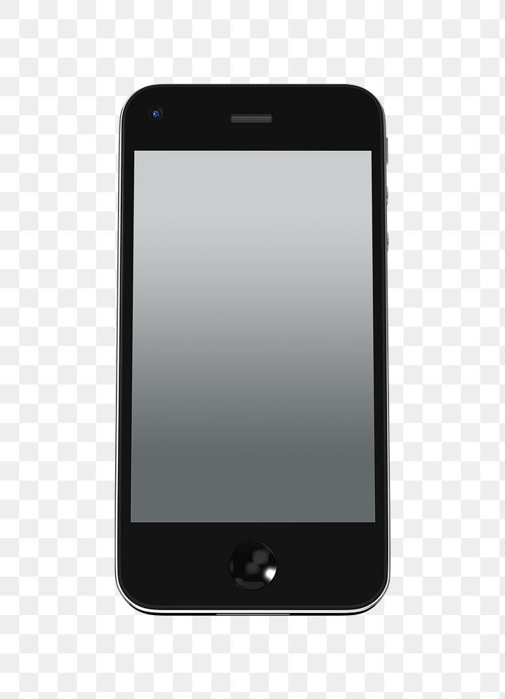 Download Premium Png Of Black Cellphone Screen Mockup Transparent Png Iphone Mockup Iphone Flower Phone Wallpaper