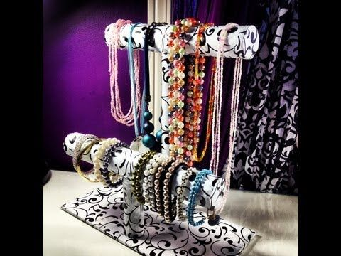 1000 images about jewelry storage on pinterest jewelry for Make your own jewelry rack
