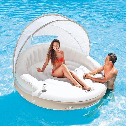 Intex Pool Float, Floating Canopy Island Pool Float by Intex - American Sale