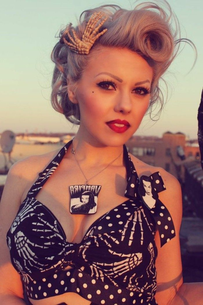 1001 + Ideas for Rockabilly Hair  Inspired from the 50 s!  16d21ec9120