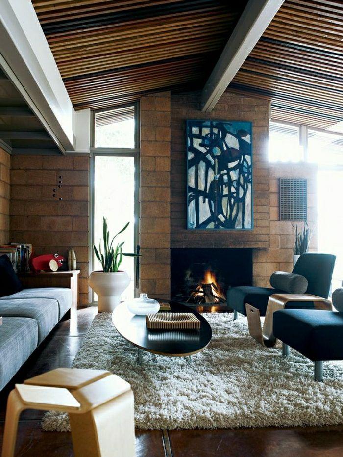die 25+ besten ideen zu couchtisch oval auf pinterest   oval ... - Wohnzimmer Design Holz
