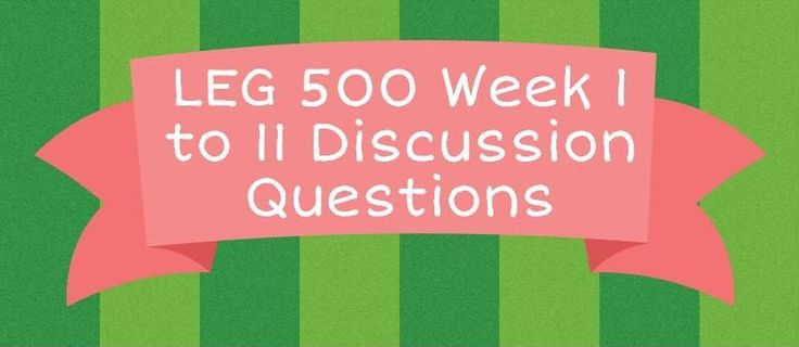 LEG 500 Discussion QuestionsWeek 1 Discussion 1: Duty to Rescue and EthicsPlease respond to the following: Analyze the key arguments for and against the imposition of a legal duty to rescue. Next, select a company with which you are familiar, and determine under what circumstances and to what extent