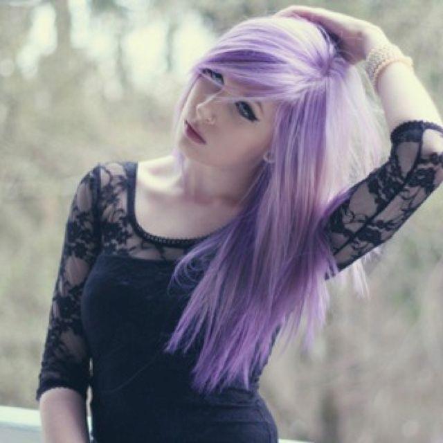 Lavender hair | My Style | Pinterest