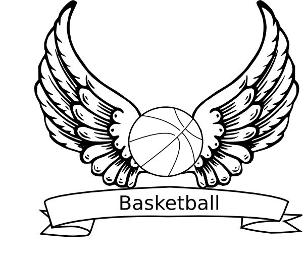 basketball with flames coloring pages - photo#28