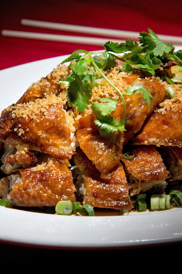 Fried chicken at Taste of Hong Kong. (Photo: Michael Nagle for The New York Times)