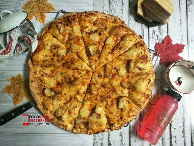 Resep Pizza Hawaiian Chicken Ala Pizza Ya Hut Oleh Al Arafah Resep Resep Masakan Makanan Dan Minuman Resep
