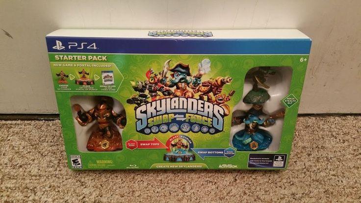 Brand New Skylanders SWAP Force Starter Pack - PlayStation 4
