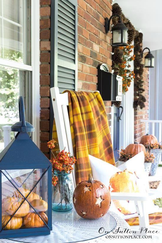 Easy DIY Fall Porch Decor Ideas