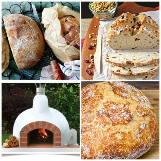 Bread wood fired oven