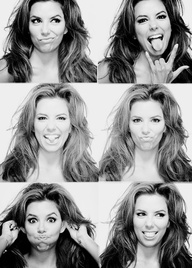 Eva Longoria. I can just imagine Emma doing this kind of photo shoot!