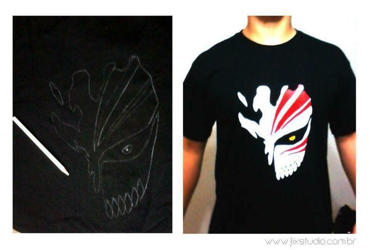 Camiseta Bleach - Feita sob encomenda