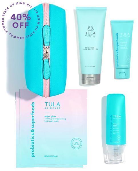 Summer State Of Mind Kit Tula Skincare Skin Care Skin Care Kit Face Products Skincare