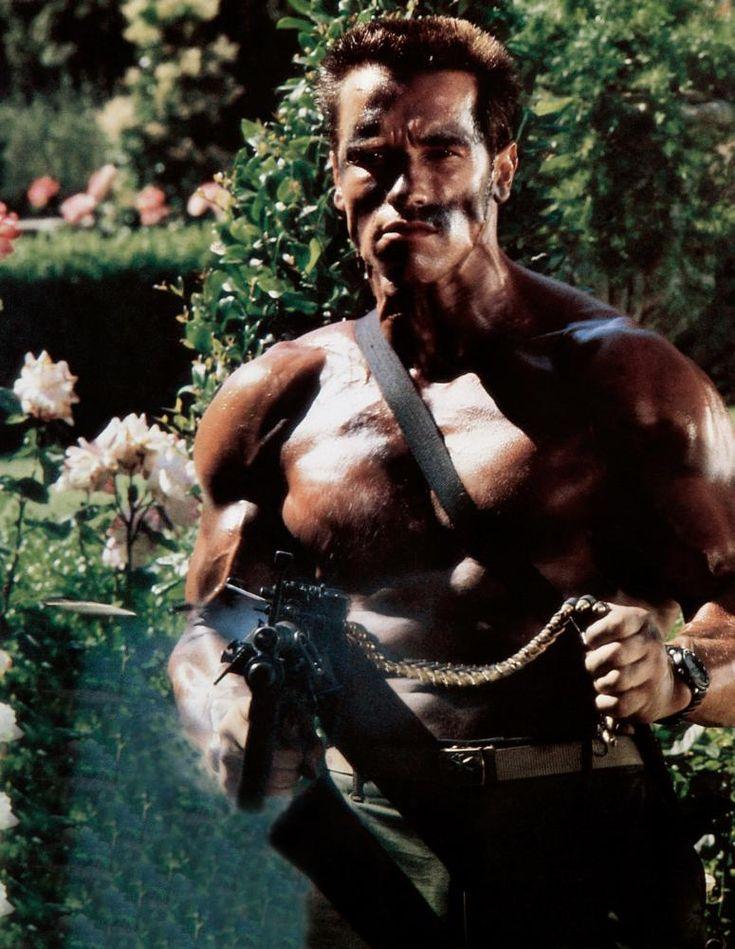COMMANDO, Arnold Schwarzenegger, 1985, TM and Copyright © 20th Century Fox Film Corp. All rights reserved.