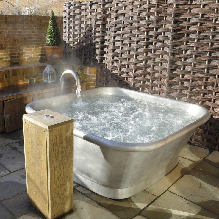 #Vasca da bagno #freestanding in #rame rivestita in ferro bianco Annie. By Viadurini Collezione Bagno. [www.viadurini.it]