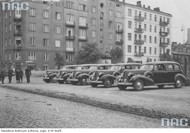 1939 rok. Inżynierska/11-listopada. Świetna fota ze zbiorów NAC!