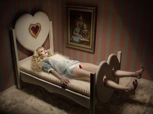 """""""Dreams"""" - Eugenio Recuenco - Zink Magazine #7"""