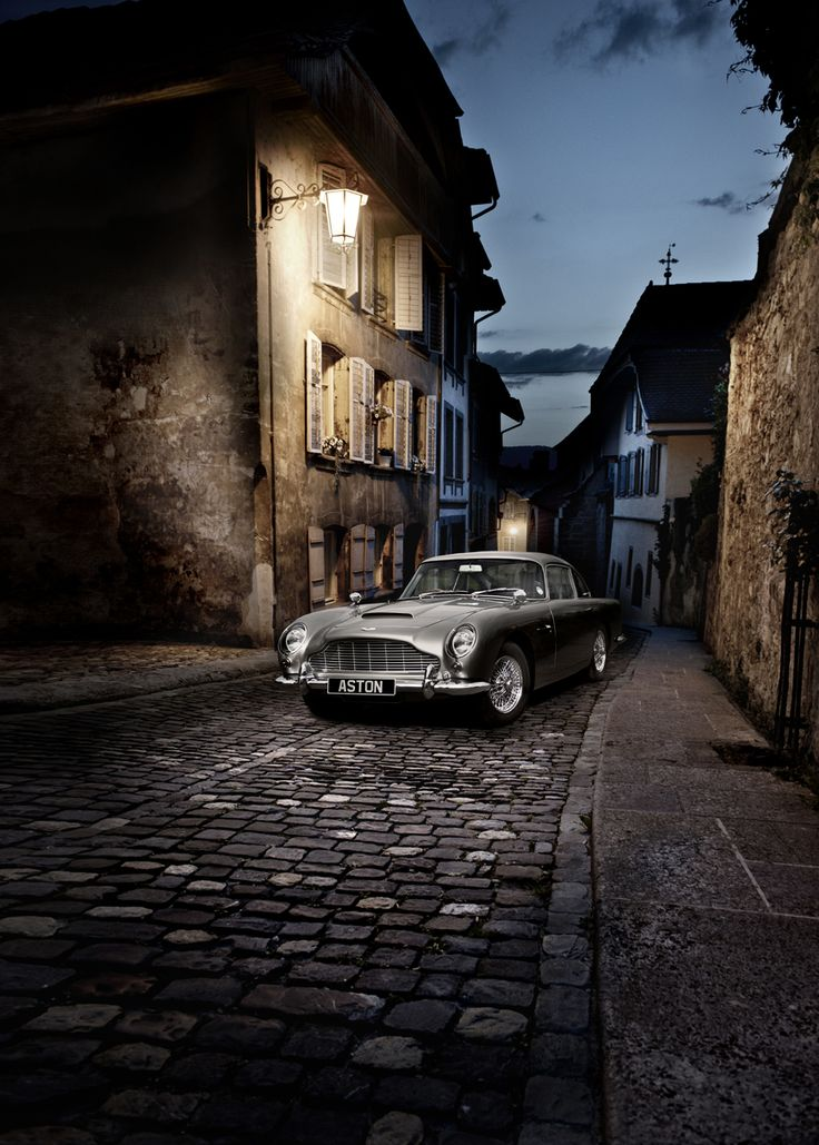 aston martin db5 in switzerland