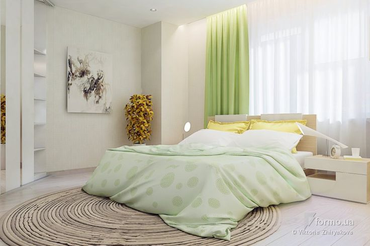 Свежая спальня