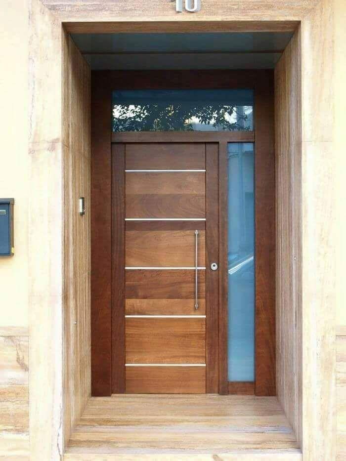 Ideas para la puerta principal de tu casa puertas - Puertas de entrada madera ...