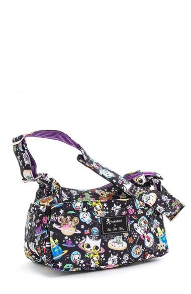 http://www.specialtytoystores.com/category/ju-ju-be-diaper-bag/ tokidoki x Ju-Ju-Be 'HoboBe' Diaper Bag
