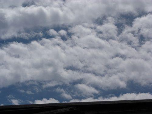 blue sky...clouds