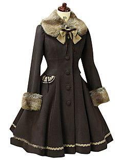 Jas Gothic Schattig Klassiek en Tradtioneel Lolita Punk Elegant Victoriaans Rococo Prinses Geïnspireerd door vintage Cosplay Lolitajurk – EUR € 111.71