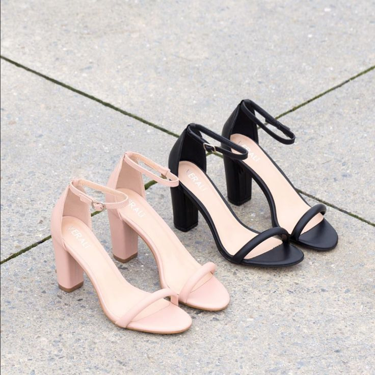 Classic meets chic with the Verali Vale minimalist heels. Shop: https://www.shoeconnection.co.nz/womens/heels/high-heels/verali-vale-strappy-heel?c=Black