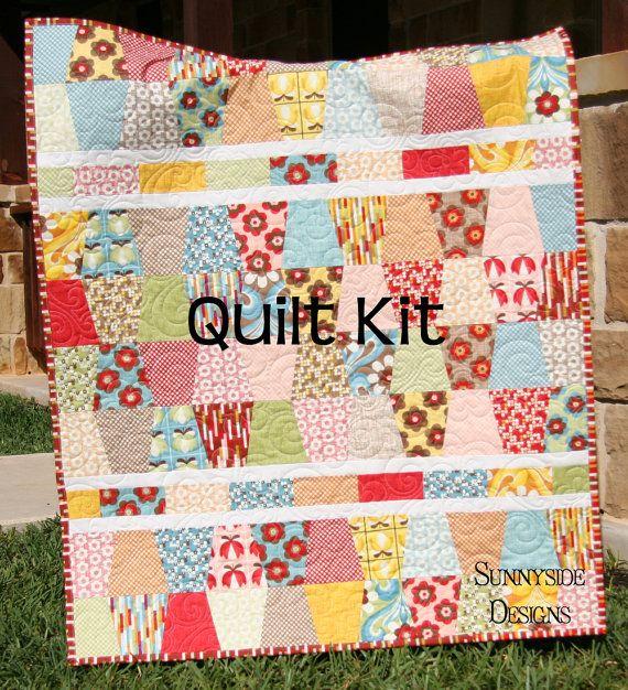 Last One Quilt Kit Boho By Urban Chiks Moda Fabrics