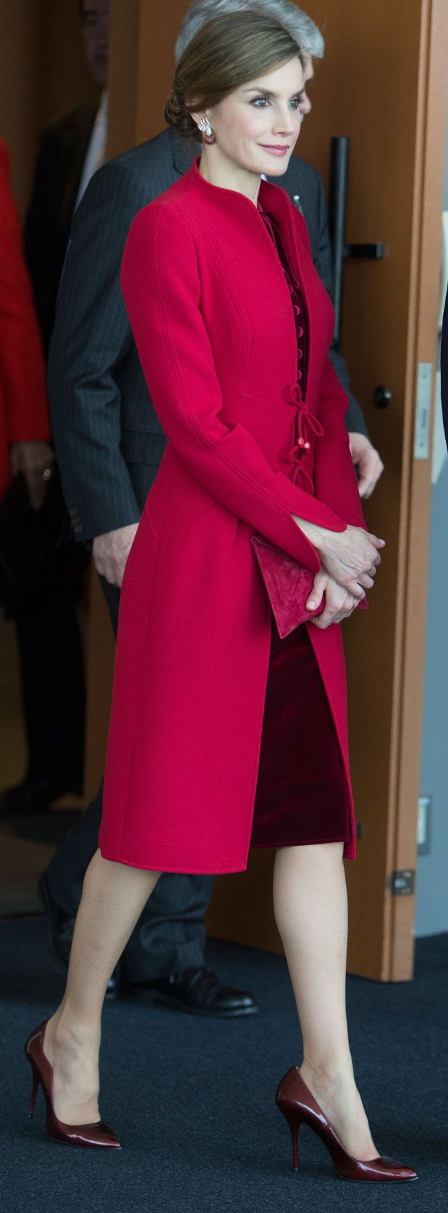 "drubles-bestgum1:  ""Queen Letizia of Spain in Japan. April 5, 2017  """