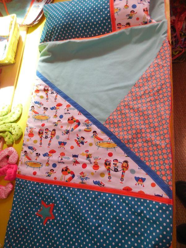 Sac de couchage pour la rentrée en maternelle