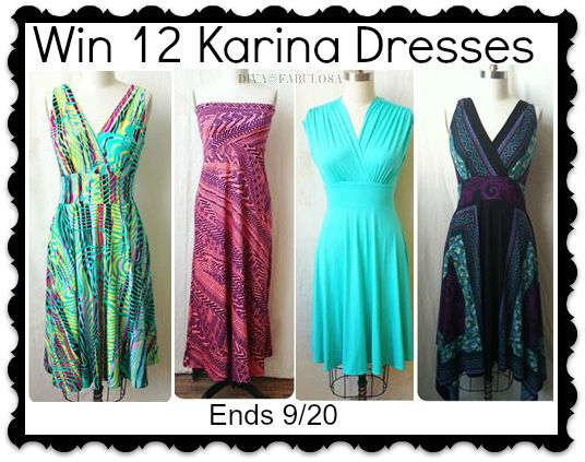 http://www.divafabulosa.com/win-a-year-of-karina-dresses-giveaway/