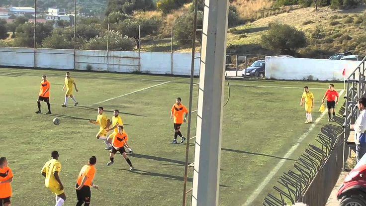 ΑΟ ΚΟΥΒΑΡΑΣ - ΝΙΚΗΦΟΡΟΣ  0-0 ΦΑΣΗΣ Α ΗΜΙΧ