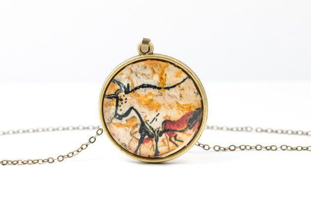 Bison Necklace [Cave Art Collection]