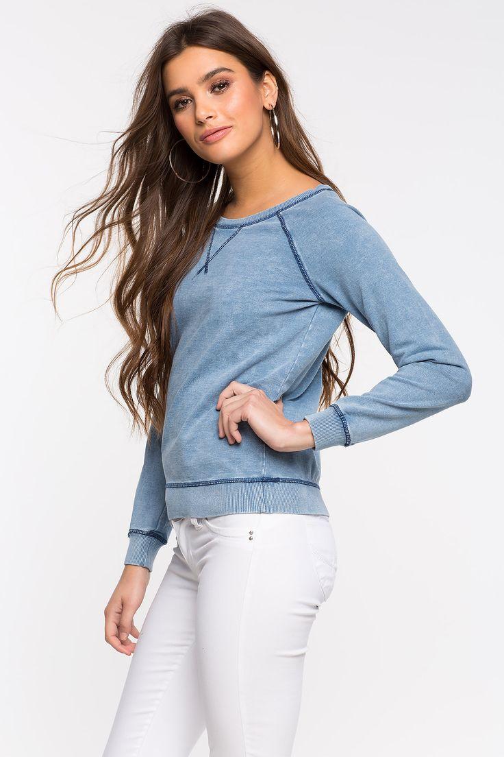 Свитшот Размеры: S, M, L Цвет: голубой Цена: 1149 руб.     #одежда #женщинам #свитшоты #коопт
