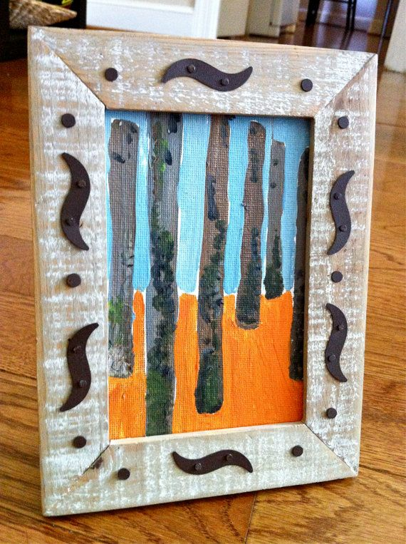 Framed Canvas Painting by sukhu on Etsy, $25.00