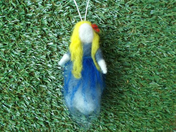 Forest Maiden  Blue by LoveandSqualorCrafts on Etsy, $17.00