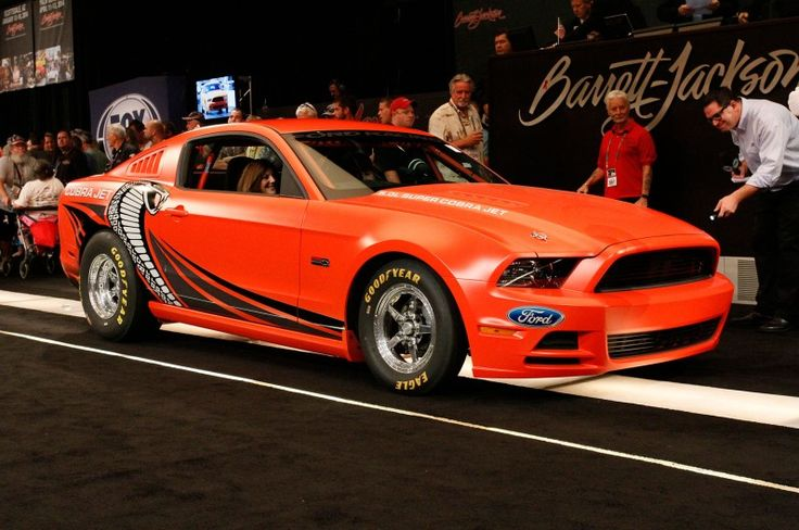 2014 Ford Mustang Cobra Jet Prototype Gets $200,000 at Auction - Motor Trend WOT