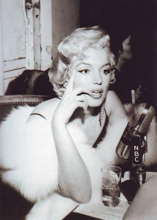 Marilyn Monroe at a Hollywood Party