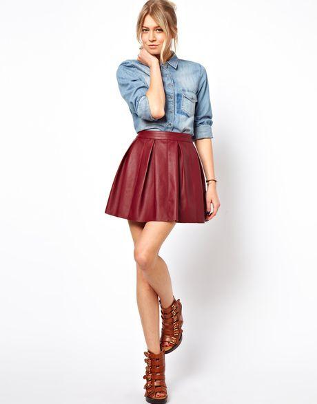 purpngreen.com leather-skater-skirt-24 #skirts