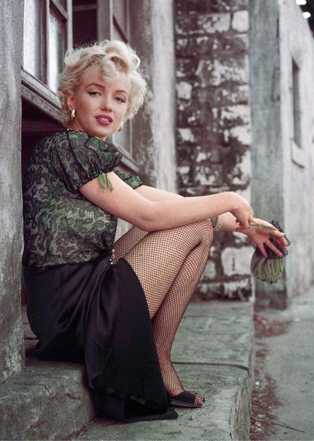 "ourmarilynmonroe: "" Marilyn Monroe photographed by Milton Greene, 1956. """