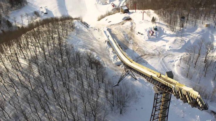 http://www.lamula.fr/sammy-carlson-samuse-sur-un-tremplin-de-saut-a-ski/  Sammy Carlson se fait peur sur un tremplin de saut à ski  #ski