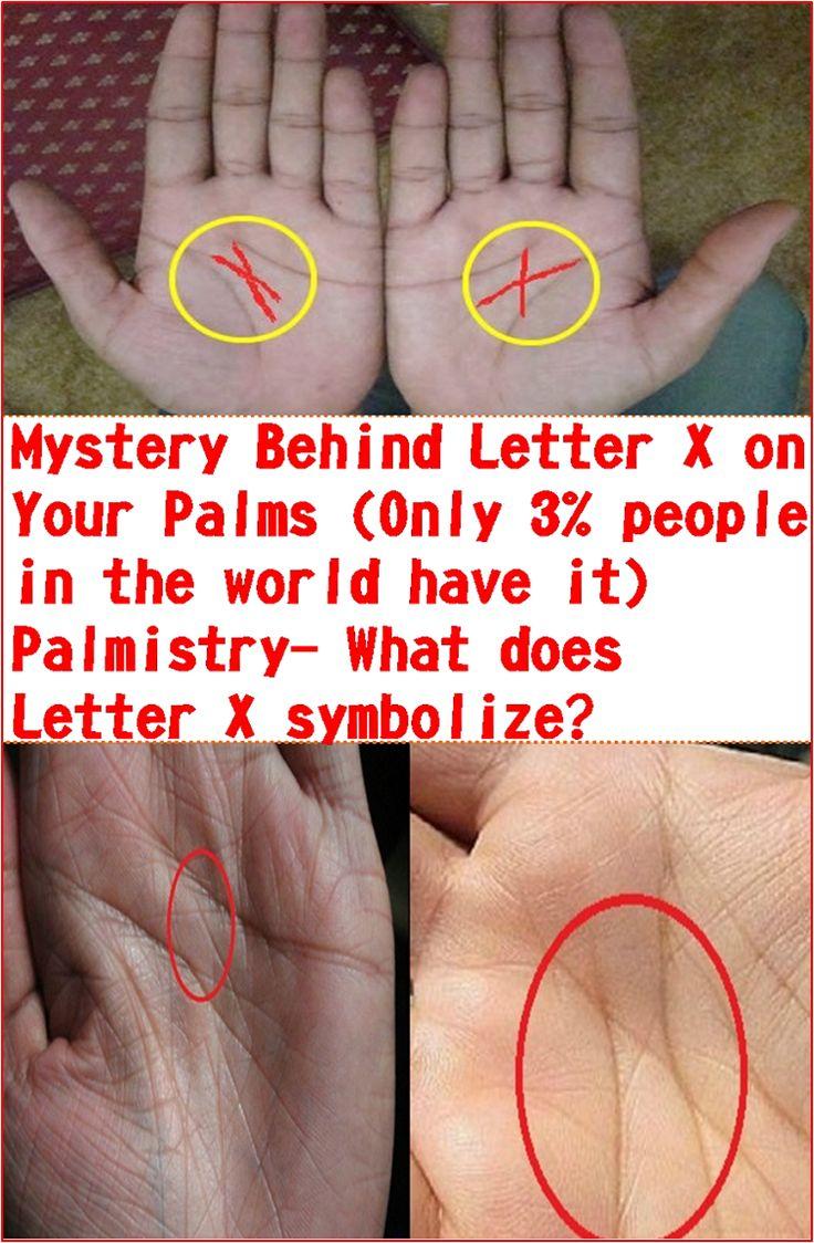 Geheimnis hinter Buchstabe X auf Ihren Handflächen (nur 3% der Menschen auf der Welt haben es) Palm …   – Food Tips and Tricks