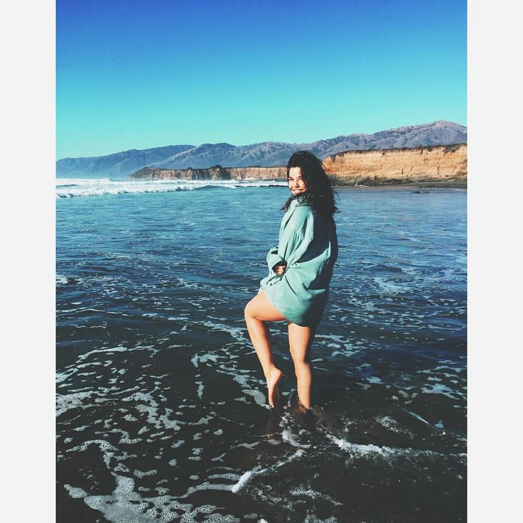 "Danielle Campbell on Instagram: ""Frolicking on the beach at Big Sur. Camped, explored, swam and had the most epic weekend."""