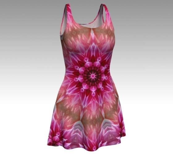 Pink Dress Flower Dress Festival Dress Flower Fairy Fairy