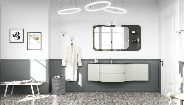 #vintage #retro-furnishing #future-design #design #bathroom #madeinitaly