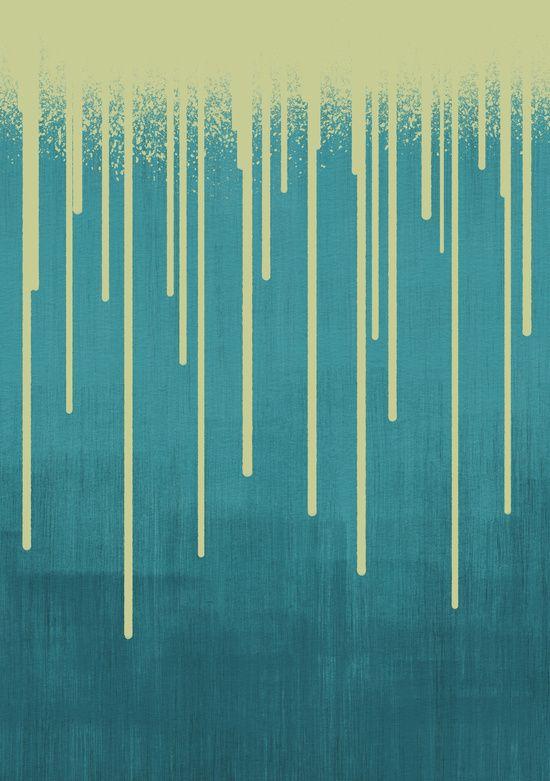 DROPS / pool Art Print   Paint colors, Print... and Colors