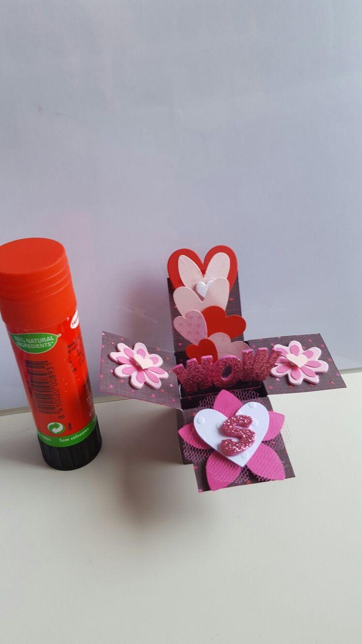 Mini mini card in a box