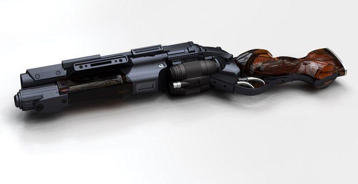 PKD - Raptor: A Concept Gun Design for Gaff
